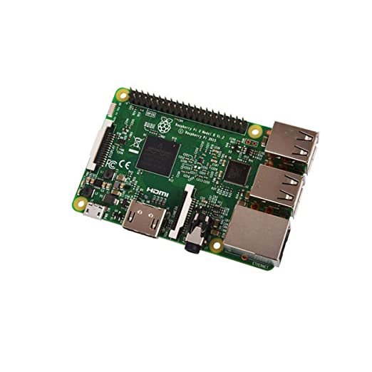9 opinioni per Raspberry Pi 3 Model B, CPU Quad Core 1,2GHz Broadcom BCM2837 64bit , 1GB RAM,