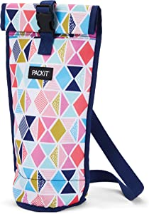 PackIt Freezable Wine Bag, Festive Gem