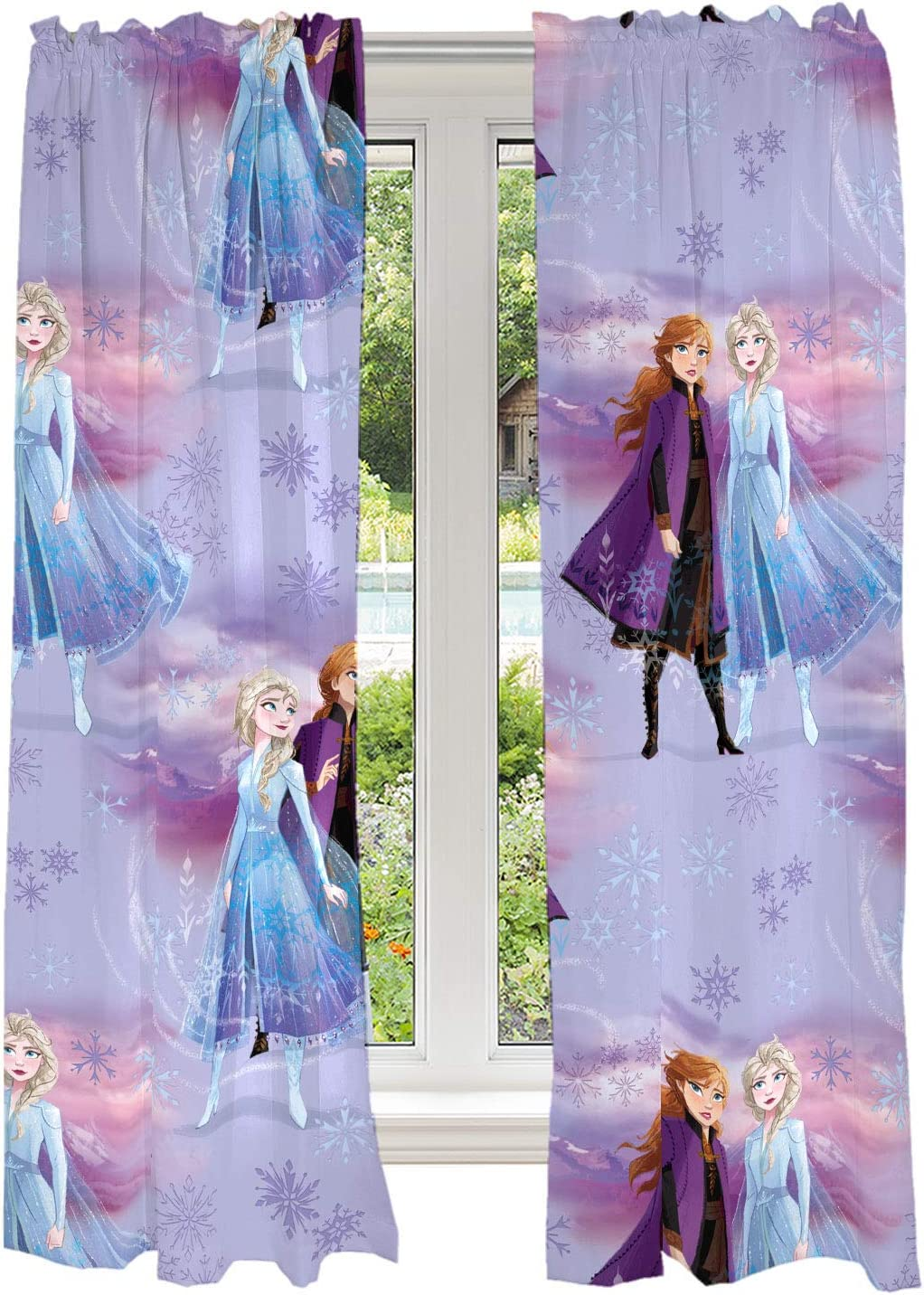 Franco Kids Room Window Curtains Drapes Set, 82