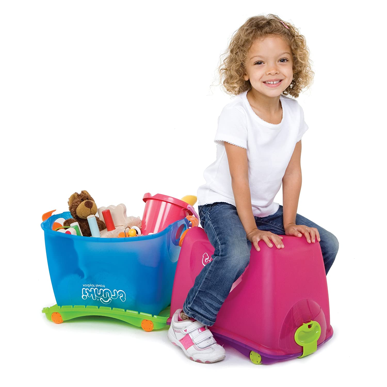 Trunki Travel ToyBox (Pink)  Amazon.co.uk  Luggage d571afe06ce48