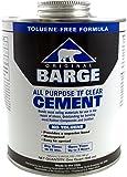 Barge Toluene Free All-Purpose Cement Cement, 32 oz (1)