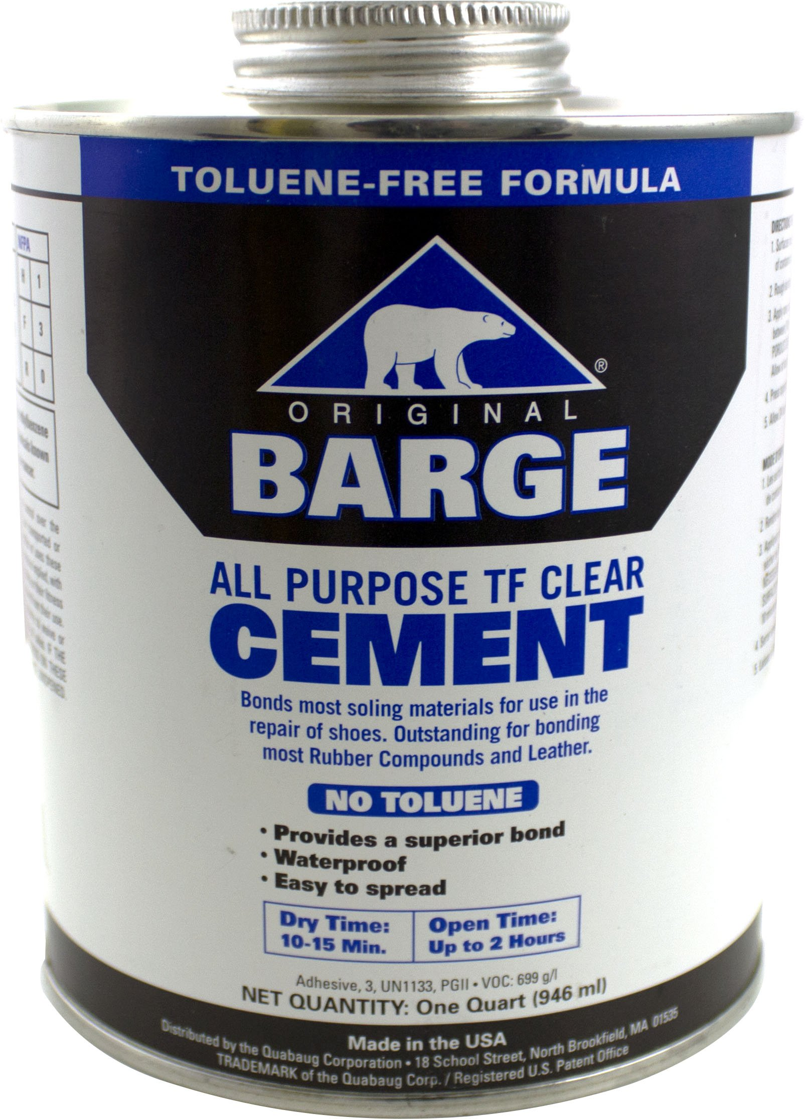 Barge Toluene Free All-Purpose Cement Cement, 32 oz by Barge (Image #1)