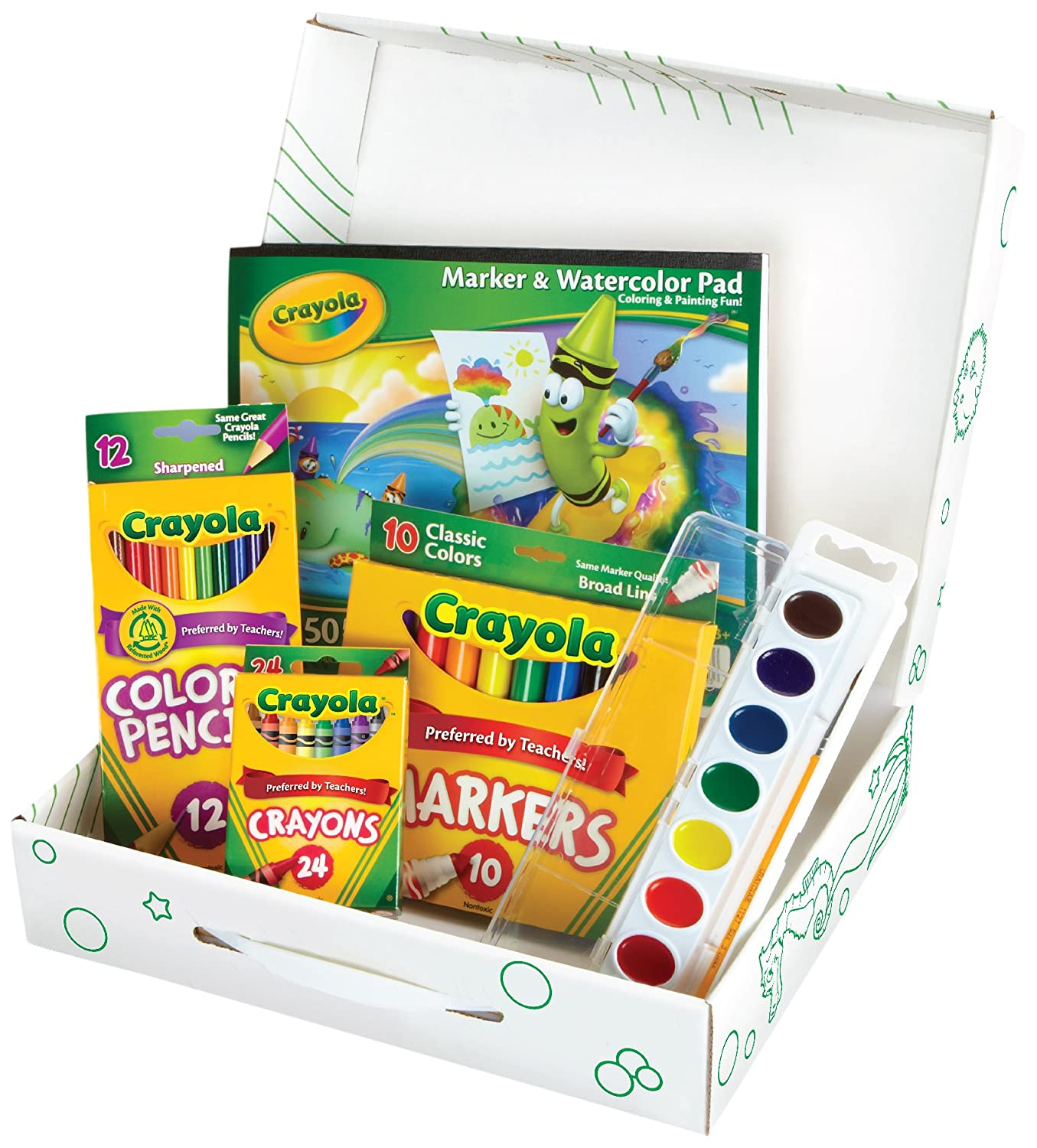 Amazon.com: Crayola Creative Color and Paint Kit: Toys & Games