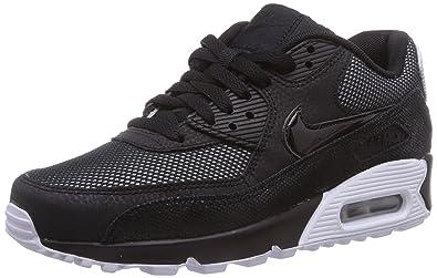 Nike Air Max 90 Premium, Sneakers da Donna, Nero (Black