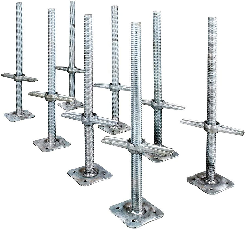 Metaltech 24in. Adjustable Leveling Jack - 8-Pk. Model Number M-MBSJP24HK8
