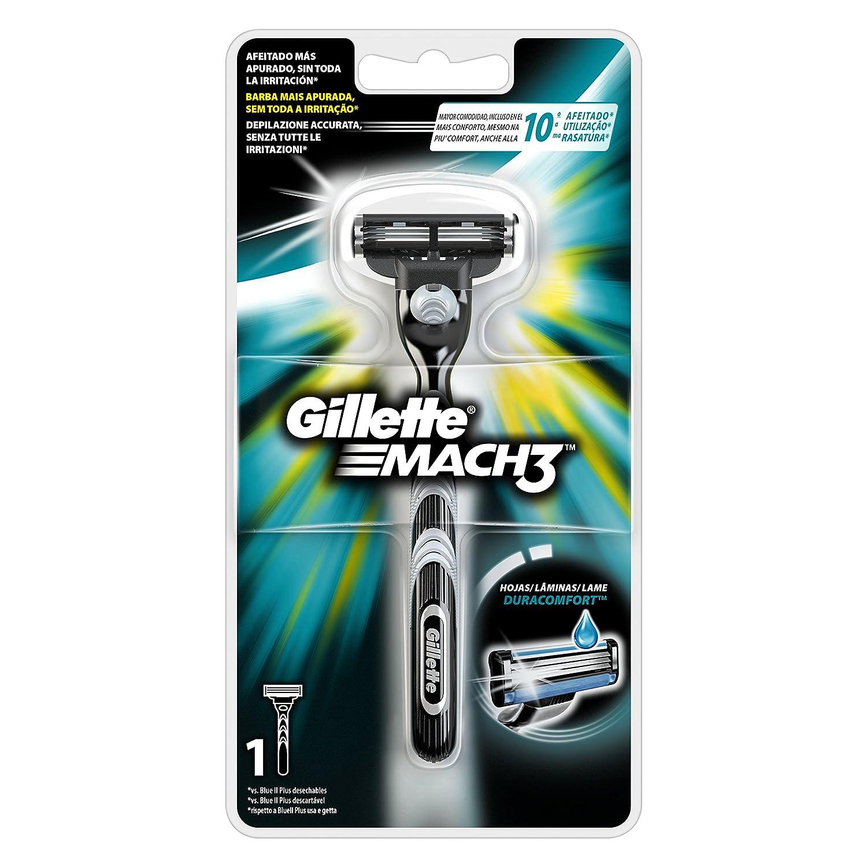 Gillette Mach3 Maquinilla Para Hombre  Amazon.es  Salud y cuidado personal 8c489d89e2c4