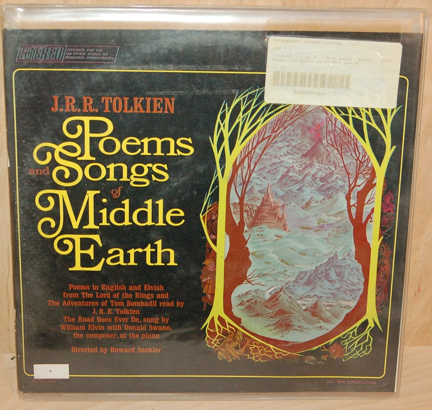 Jrr Tolkien Poems And Songs Of Middle Earth Amazon Music