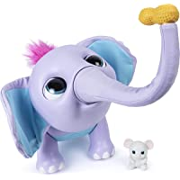 Juno 6047249 Wildluvs, Interactive Baby Elephant with Moving Trunk and Over 150 Sounds and Movements, Mixed Colours