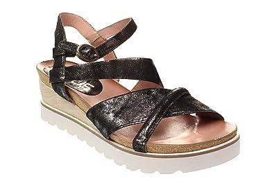 Mjus 221029 0102 Damen Schuhe Sandaletten 6002 nero