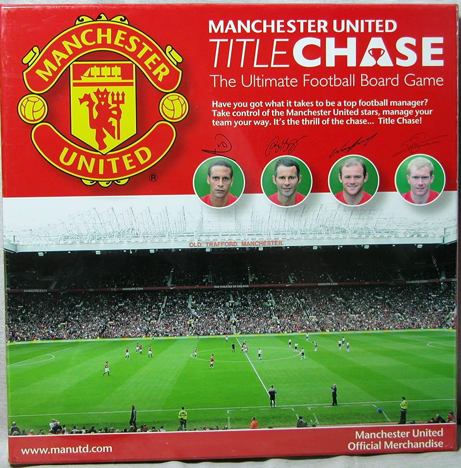 Manchester united title chase the ultimate football board game manchester united title chase the ultimate football board game amazon toys games voltagebd Image collections