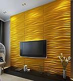 Panneaux muraux 3D Décoration d'intérieur moderne Idéal pour les murs de chambres, salons et cuisines Offre proposée pour 3 mètres carré (FRwp0003)