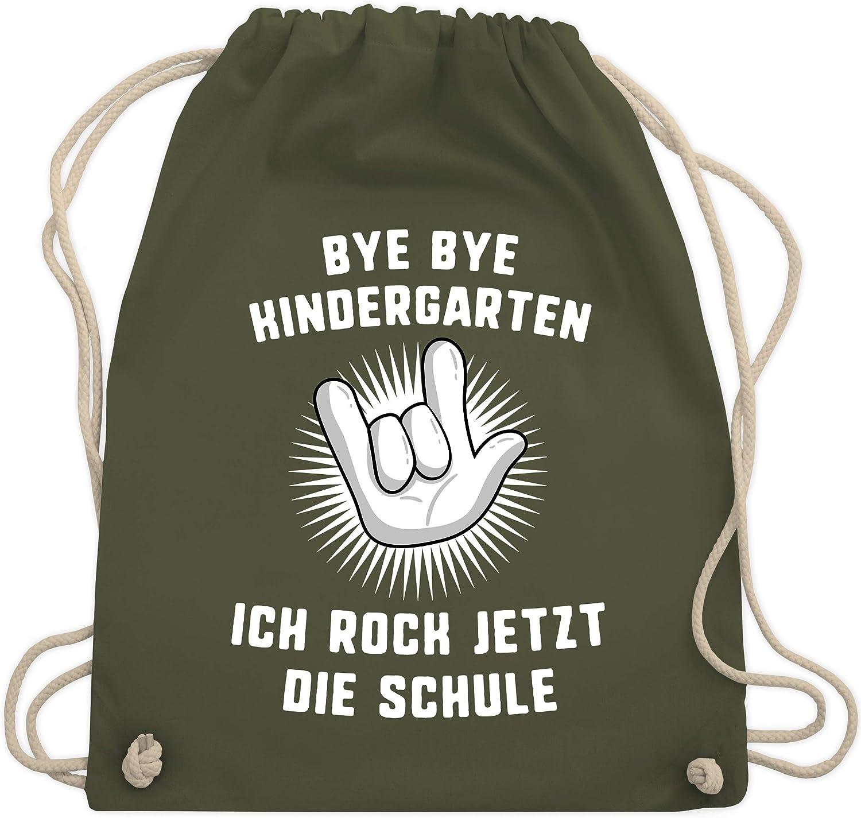 *Kindergarten*Schule*Stoffbeutel*Turnbeutel*mit Kordelzug *Einhorn*Einschulung*