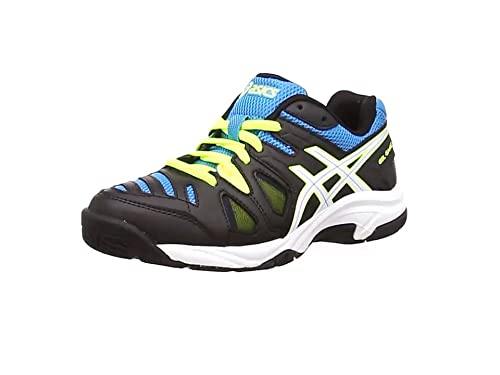 wholesale dealer 234c7 10932 ASICS Gel-Game 5 Gs, Unisex Kids  Tennis Shoes, Black (Onyx