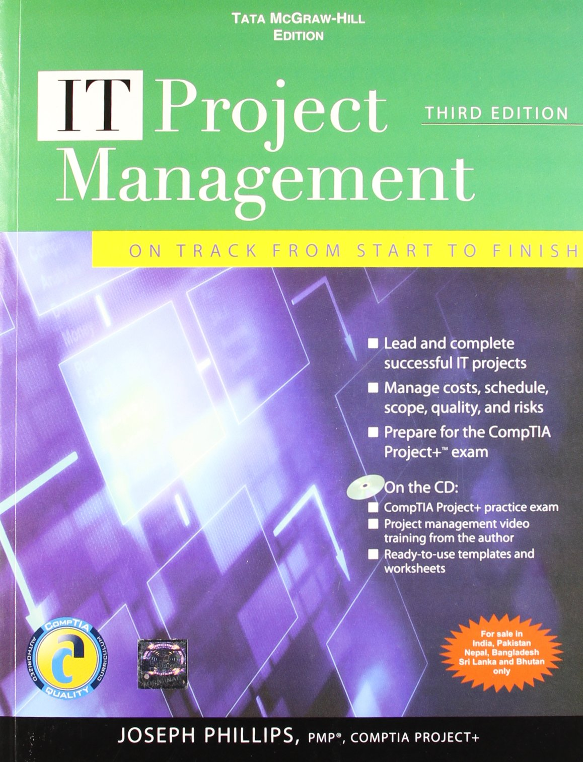 It project management on track from start to finish third it project management on track from start to finish third edition joseph phillips 9780071067270 amazon books xflitez Image collections