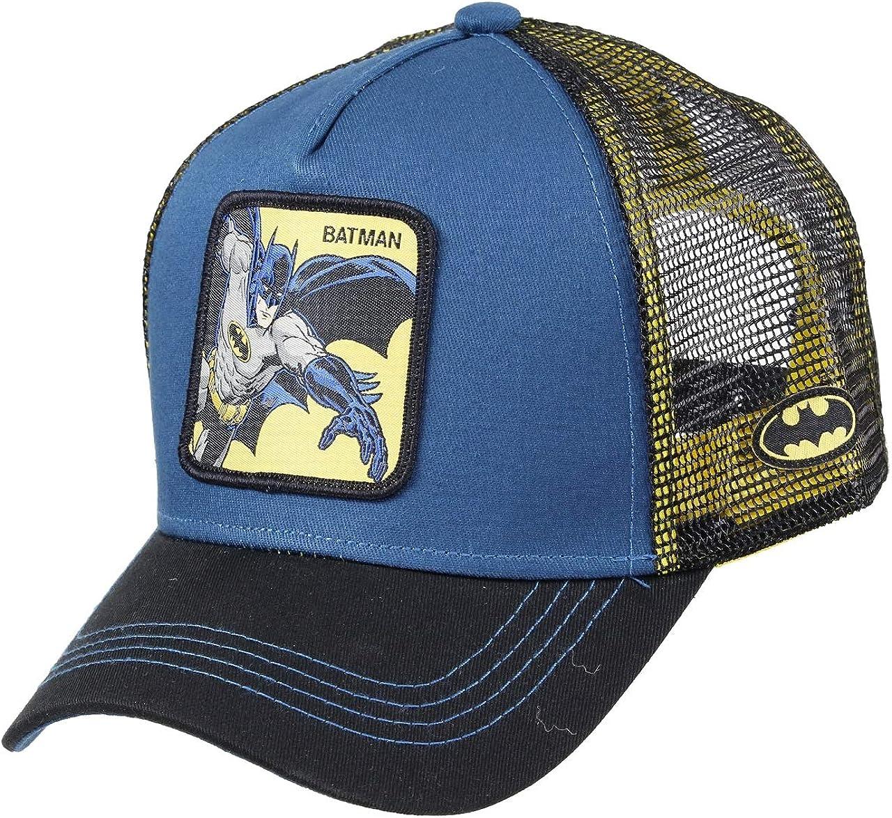 Capslab Batman Trucker Cap Batman Navy - One-Size: Amazon.es: Ropa ...