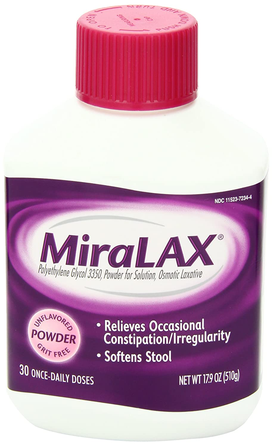 Amazon.com: MiraLAX Powder 17.90 oz: Health & Personal Care