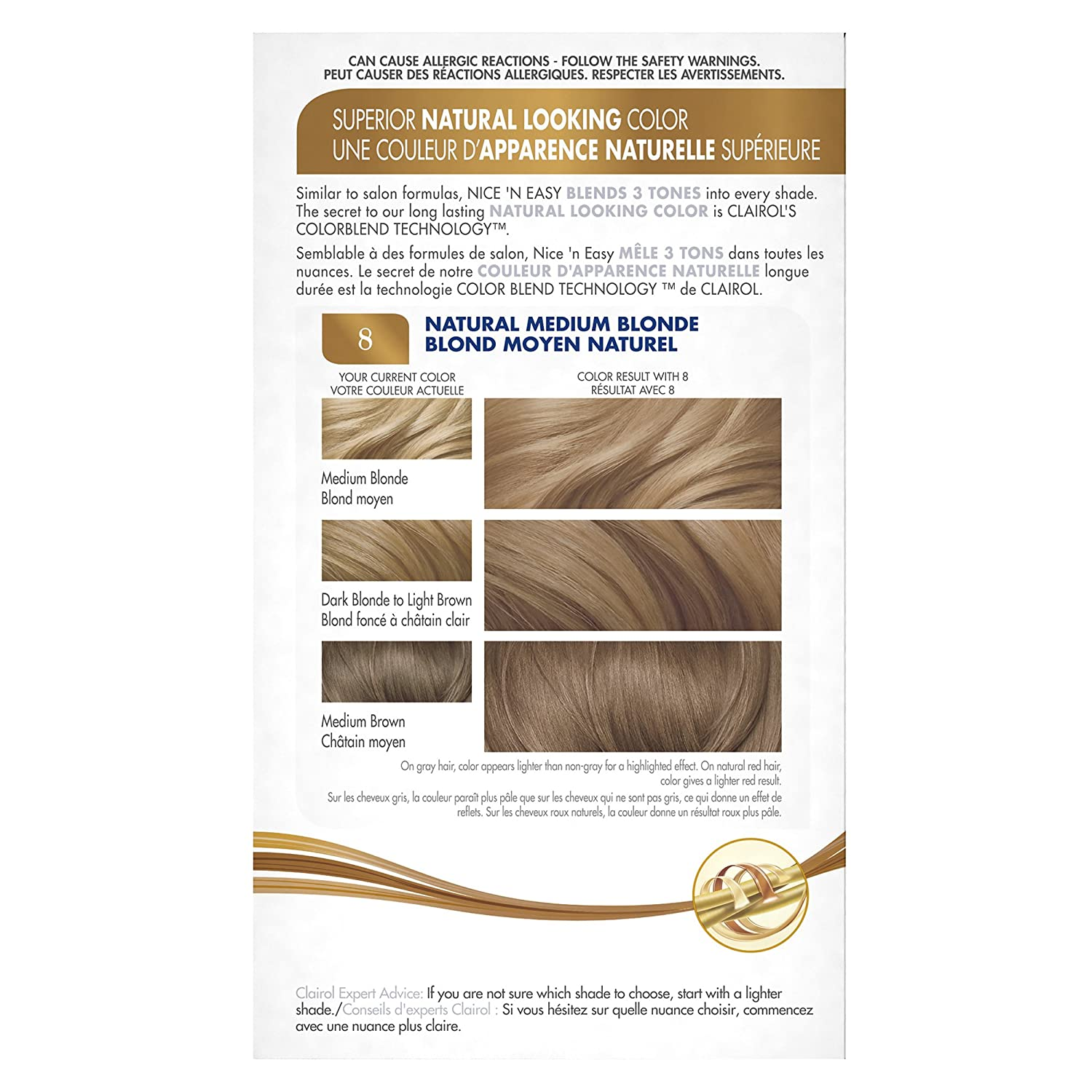 Amazon Clairol Nice N Easy Permanent Color 4120 Natural