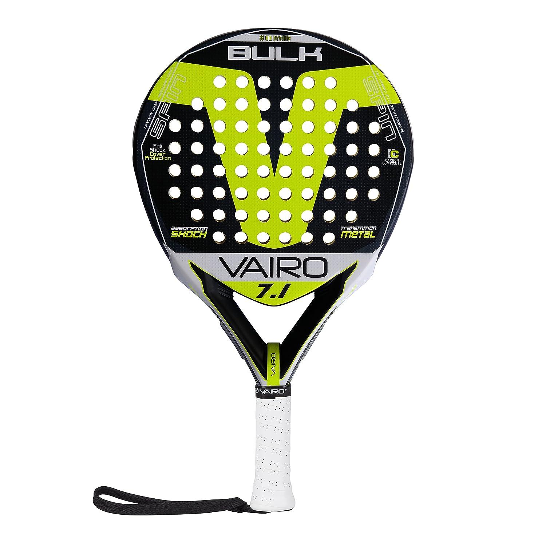 VAIRO Pala de Padel Bulk SPIN 7.1: Amazon.es: Deportes y ...