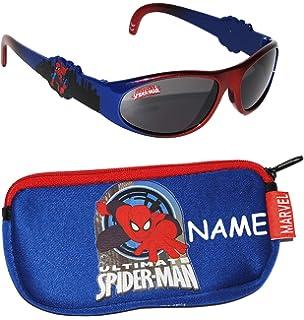 Spiderman Sonnenbrille Kinder Rot/Blau Sonne Brille getöntes Spezifikationen Brille, rot / blau