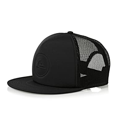 07fb3342f89 Amazon.com  Quiksilver Pressure Snap Cap One Size Black  Clothing