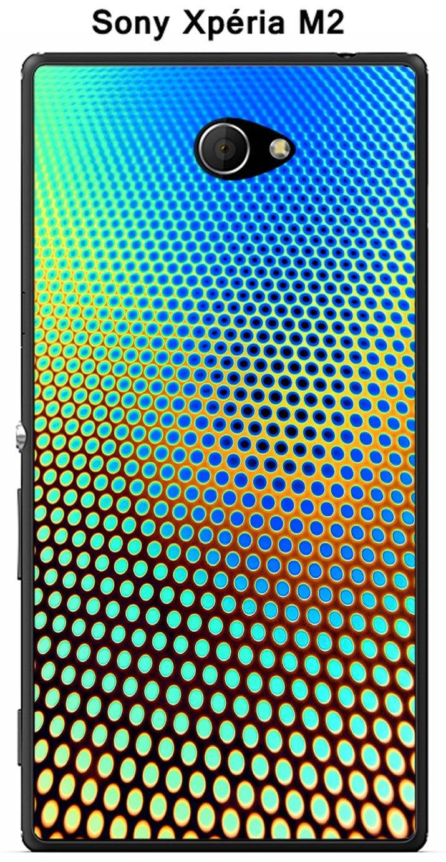 Onozo Carcasa para Sony Xperia M2 Design Degrade azul ...