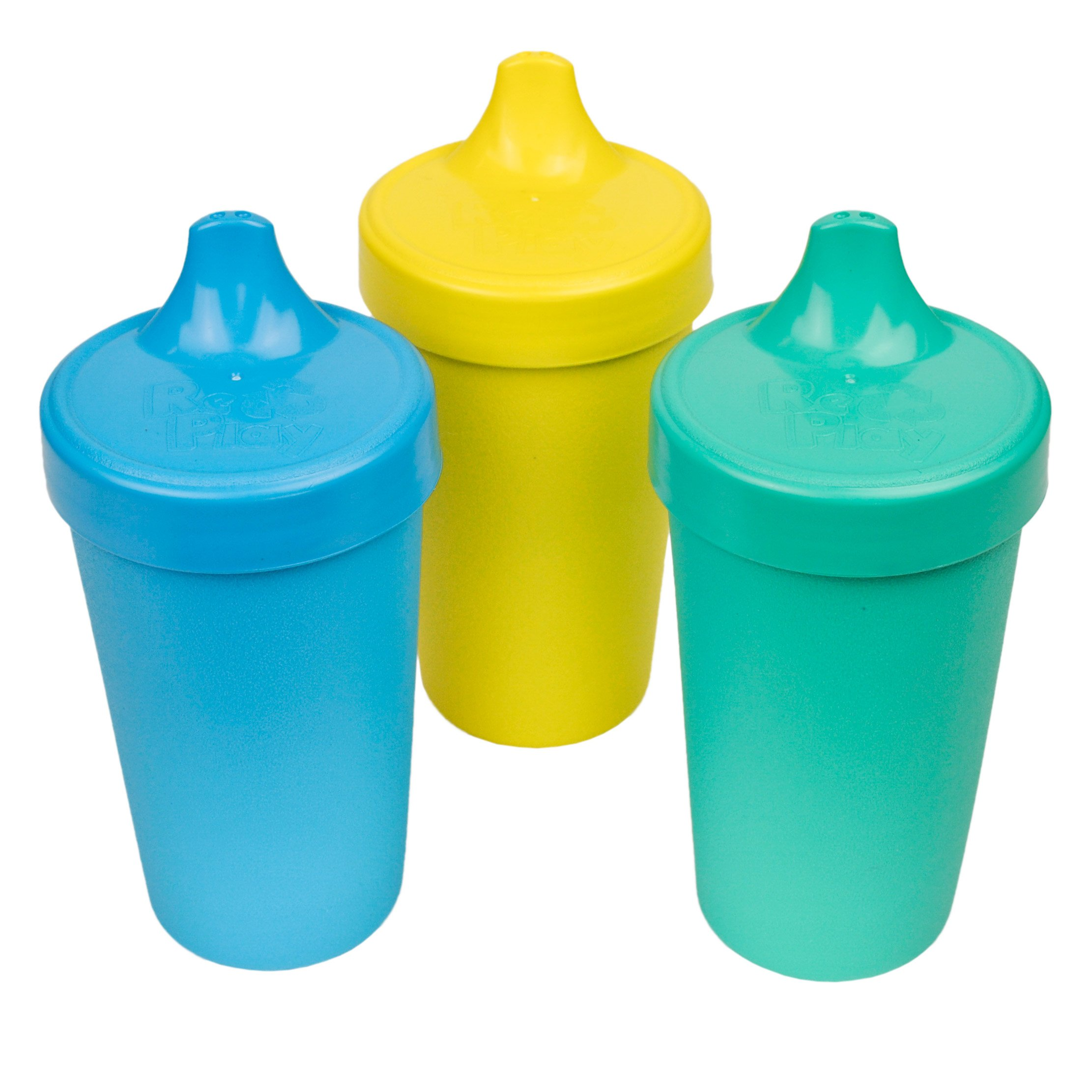 Feeding Bowls & Plates Re-play Snack Stack Cup 2pk With 1 Lid Food Container Bpa Free Recycled Plastics
