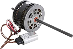 Endurance Pro D1092 Motor Replacement for Fasco 5.0-Inch 1/3 HP, 115 Volts, 1675 RPM, 2 Speed, 3.4 Amps, OAO Enclosure, Double Shaft, Sleeve Bearing