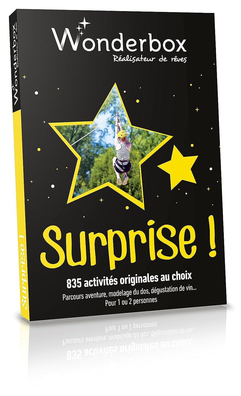 Coffret Cadeau Wonderbox Surprise Amazonfr Hygiãšne Et Soins Du
