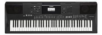 Yamaha PSR-EW410 - Teclado portátil, color negro