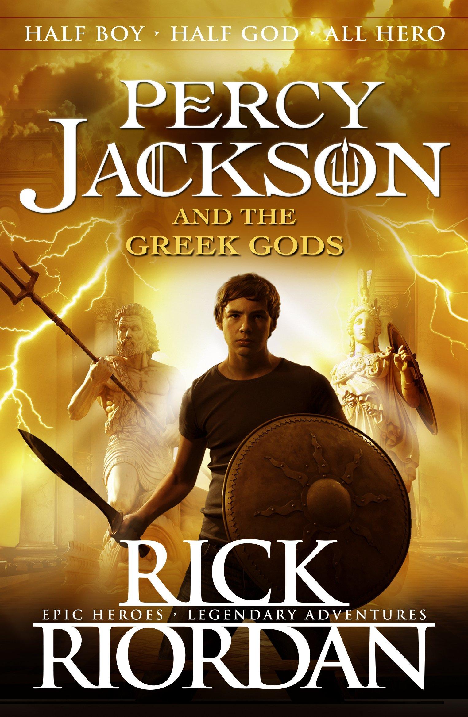 Percy Jackson and the Greek Gods Percy Jackson s Greek Myths  Amazon ... e898c8299b30e