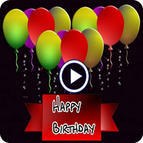 birthday video maker app with song free download