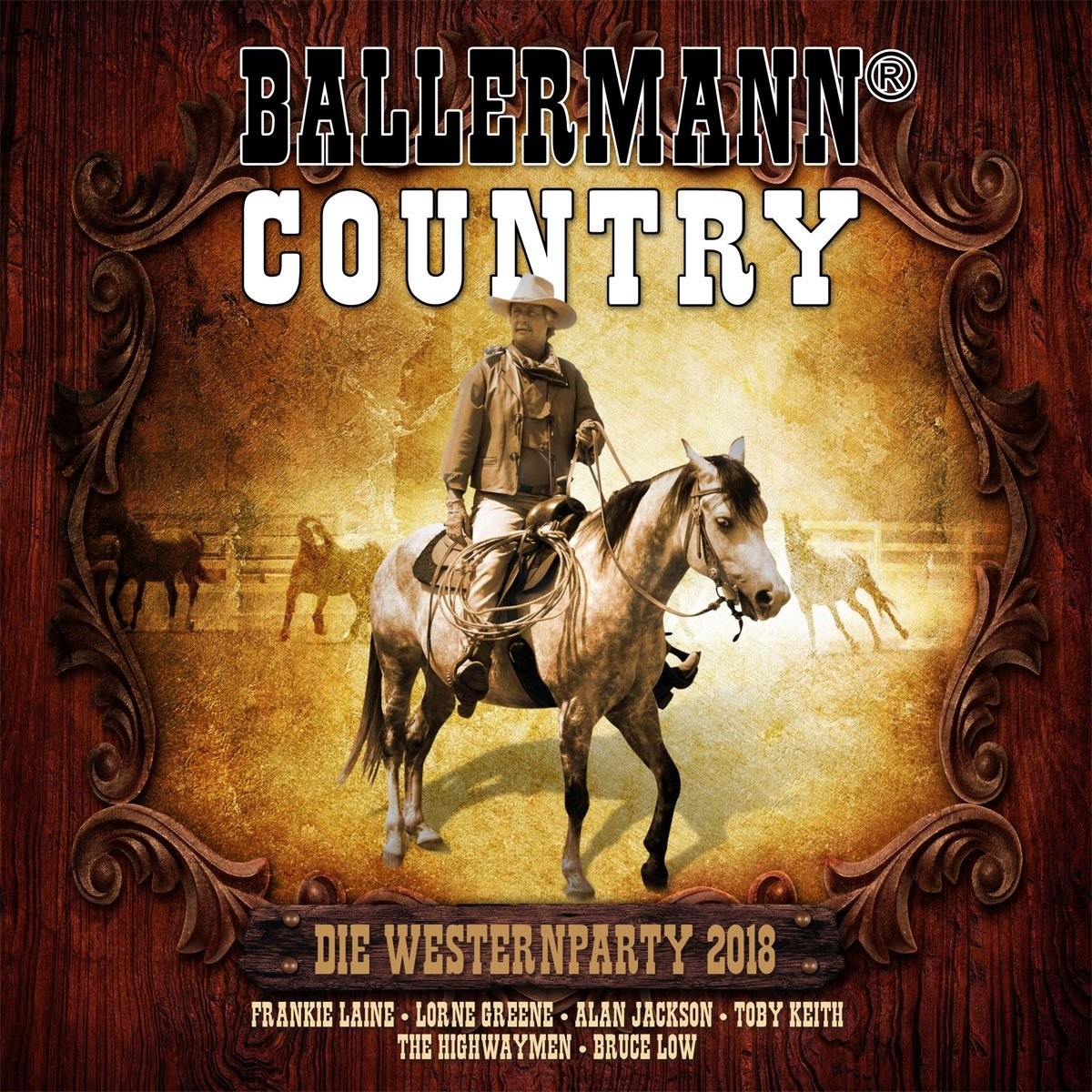 VA - Ballermann Country Die Western Party 2018 - CD - FLAC - 2017 - NBFLAC Download