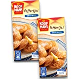 Koopmans Poffertjes Mini Dutch Pancakes Mix - (2-Pack) - Original Pancake Mix, Dutch Holland Import, 14.1 oz. Per Box