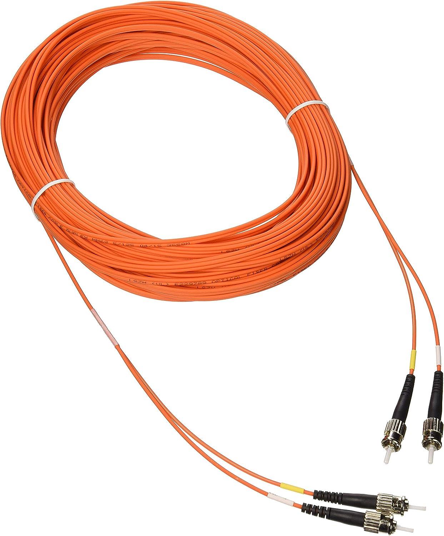 Tripp Lite Duplex Multimode 62.5/125 Fiber Patch Cable (ST/ST), 30M (100-ft.)(N302-30M)
