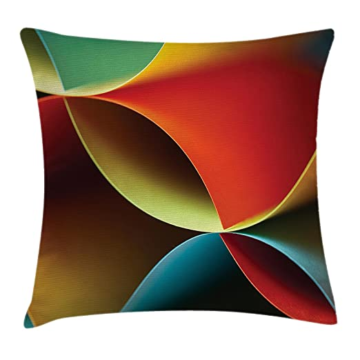 Bag-shirt Funda de Cojín con Diseño de Origami Curvado con ...