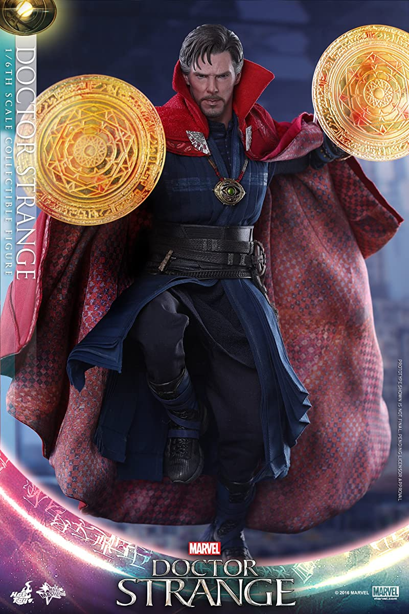 "Hot Toys Marvel Doctor Strange Benedict Cumberbatch 1/6 Scale 12"" Figure"