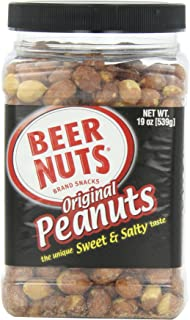 product image for BEER NUTS Original Peanuts (Family), 19-Ounce Jars (Pack of 6)