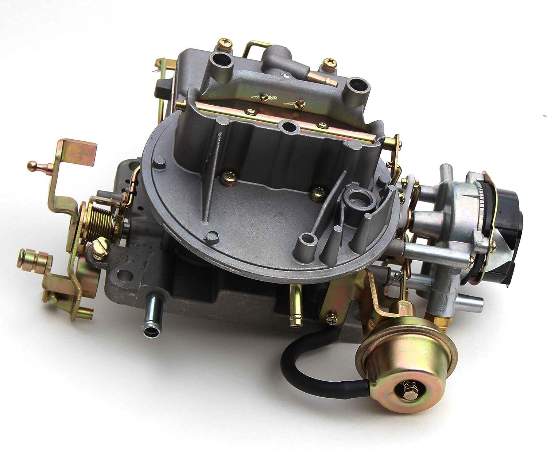 amazon com: new carburetor two 2 barrel carburetor carb 2100 for ford 289  302 351 cu jeep engine: automotive