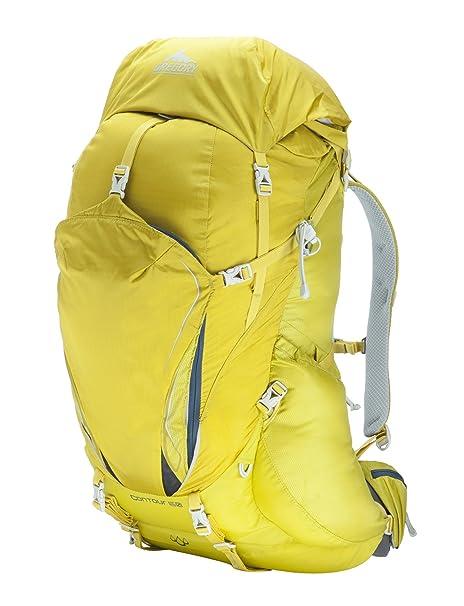 Gregory contorno 50 mochila - amarillo eléctrico, color Amarillo - amarillo, tamaño small