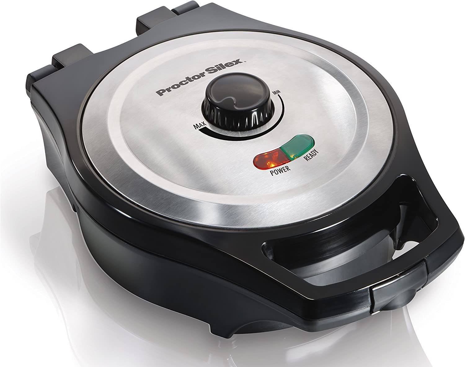 Proctor Silex Belgian Style Waffle Maker, Mess Free 26044A