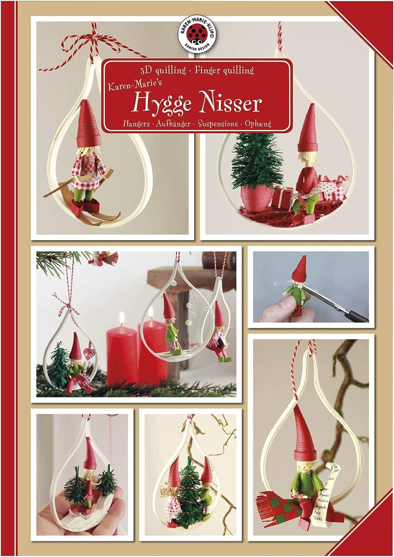 3D Quilling KIT Hygge Nisser Karen Marie Klip