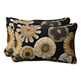 Pillow Perfect Decorative Floral Rectangle Toss