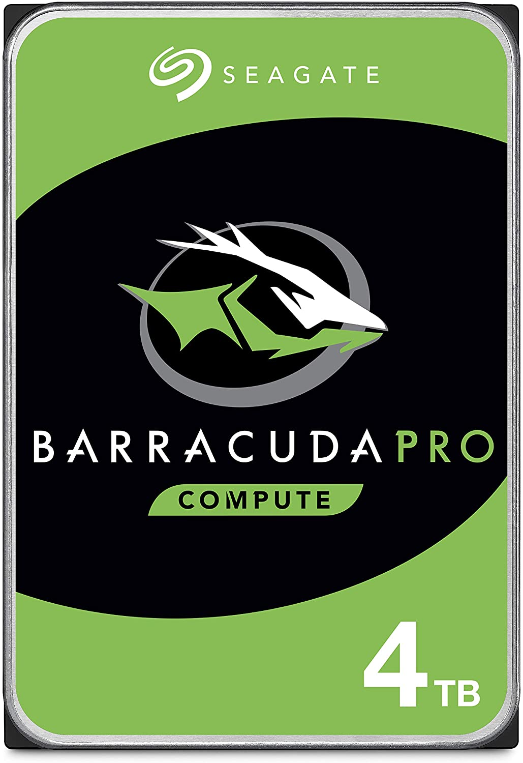 Seagate BarraCuda Pro 4TB Internal Hard Drive Performance HDD – 3.5 Inch SATA 6 Gb/s 7200 RPM 128MB Cache for Computer Desktop PC, Data Recovery (ST4000DM006)