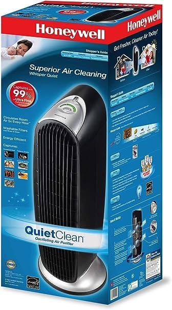 Honeywell QuietClean™ Tower - Purificador de Aire: Amazon.es: Hogar