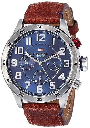 100% echt Sortenstile von 2019 exklusives Sortiment Tommy Hilfiger Chronograph Blue Dial Men's Watch - TH1791066J