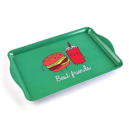Versa 18240530 Bandeja Grande Burger, 3,5x30,5x48,5cm, Plástico,