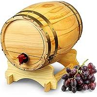 Dispensador de barril de vino de madera pino