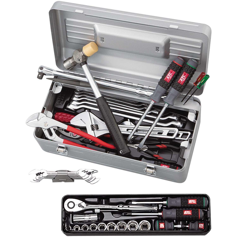 KTC(ケーテーシー) ツールセット 工具セット (片開きケースタイプ) SK4441S B073P7ZKKL