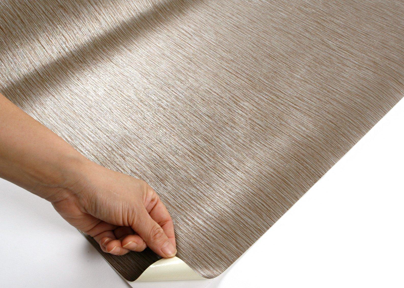 ROSEROSA Peel & Stick Backsplash Luxury Embossed Wood Contact Paper Self-adhesive Wallpaper Shelf Liner Table Door Reform (MG242 : 2.00 Feet X 6.56 Feet) by ROSEROSA (Image #4)