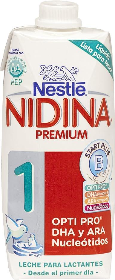 Nestlé NIDINA 1 Leche para lactantes líquida, fórmula Para ...